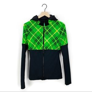 Lululemon plaid reversible start it up jacket